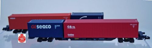 NB-116A Dapol  FEAB Container Twin Pack GBRF 640623 & 640624